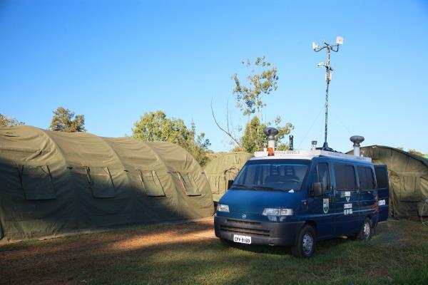 FAB PÉ DE POEIRA: Batalhão de Infantaria (BINFA 55)  treina vigilância eletrônica para Olimpíadas