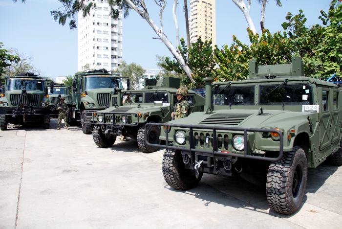 Colômbia : Infanteria de Marina adquire novo lote de Veículos.
