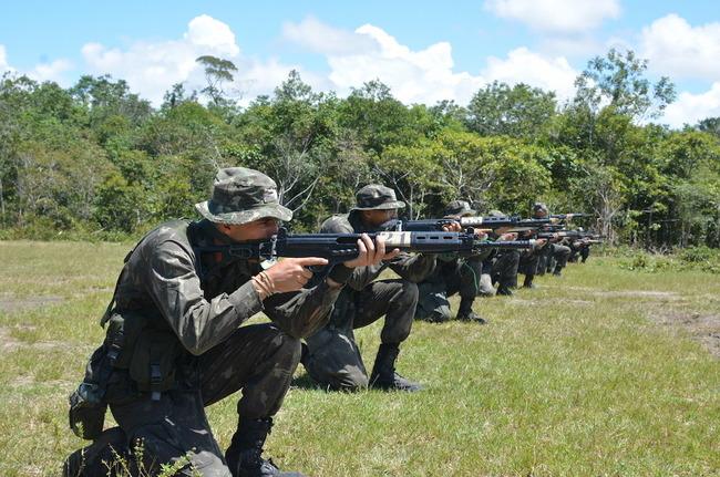 Curso de guerra na selva