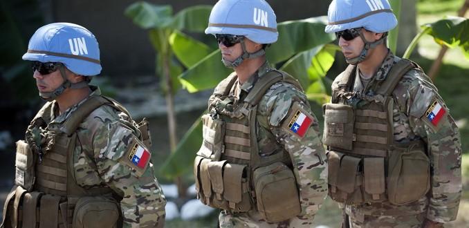 Forças Armadas do Chile estendem participação em missão da ONU no Haiti