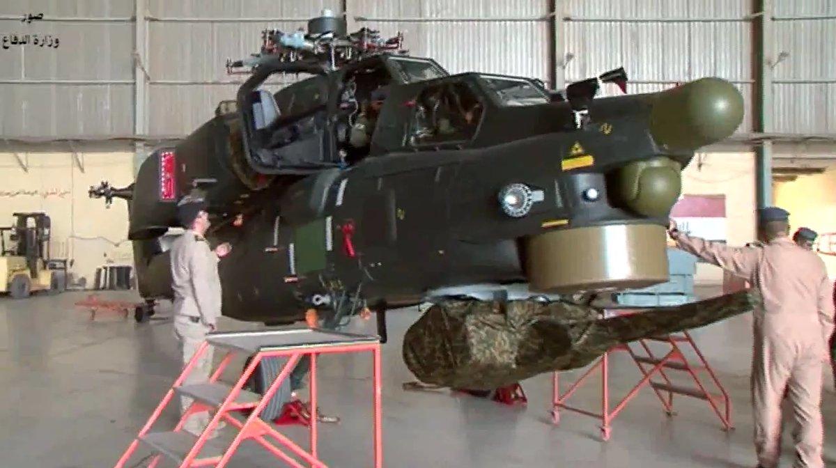 Iraque recebe da Rússia um novo lote de helicópteros Mi-28NE (Vídeo)