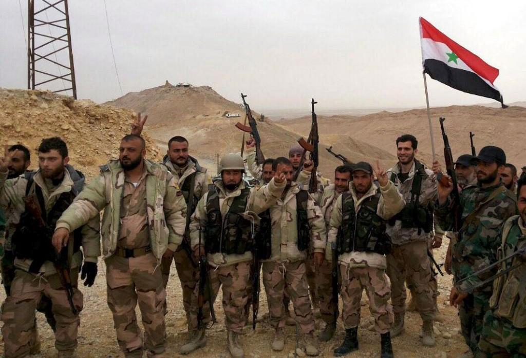 Tropas sírias entram na província de Raqqa
