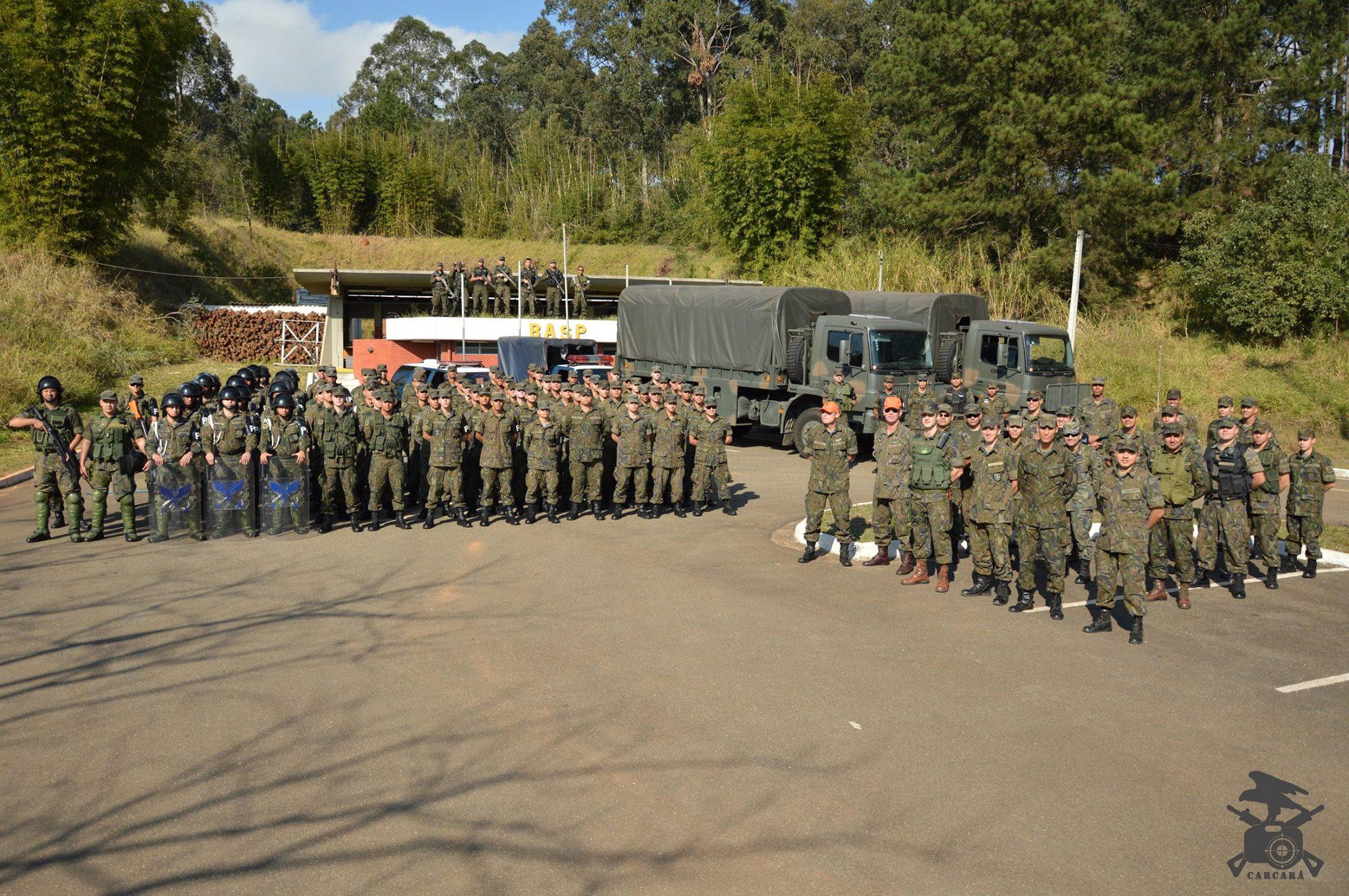 FAB PÉ DE POEIRA: BINFA-14 Batalhão Bandeirante encerra sua preparação para as Olimpiadas