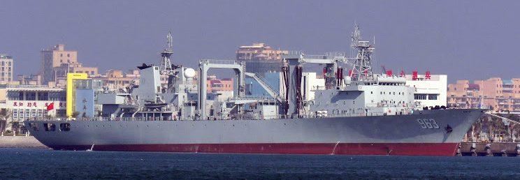 PLAN comissiona no mesmo dia dois Navios reabastecedores de 23 kton