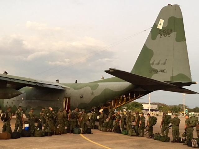 135 Fuzileiros Navais de Ladário Embarcam para Garantir a Segurança dos Jogos Olímpicos e Paralímpicos Rio2016