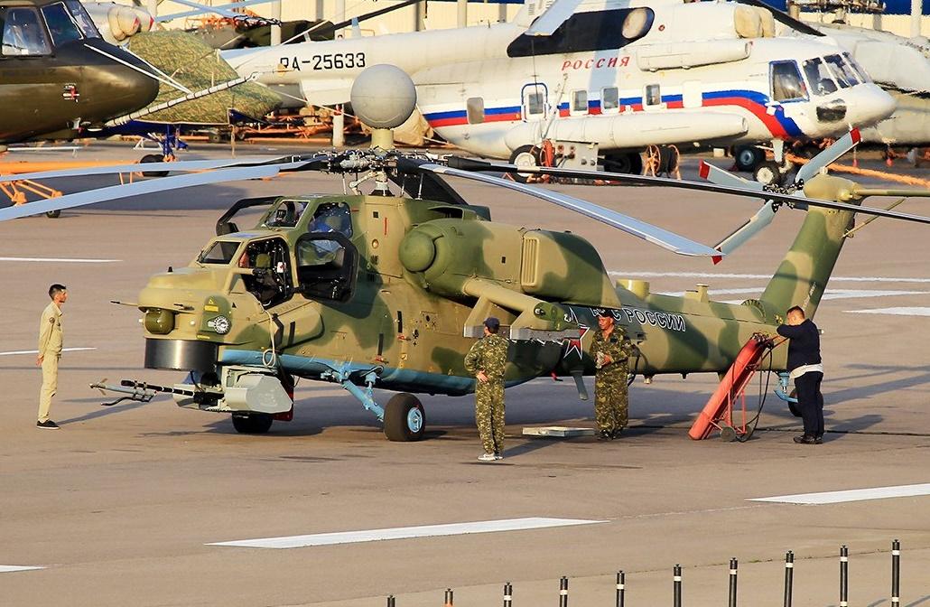 As Forças Aeroespaciais Russas receberão dois helicópteros de ataque Mi-28NM até o final de 2018