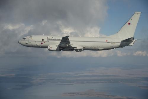 Reino unido decide-se pela aquisição de  nove Patrulheiros multimissão P-8A Poseidon