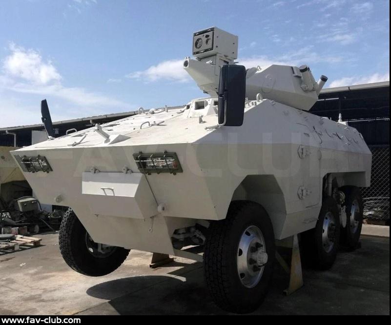 Avança o programa de modernização dos Engesa EE-11 Urutu da Venezuela.