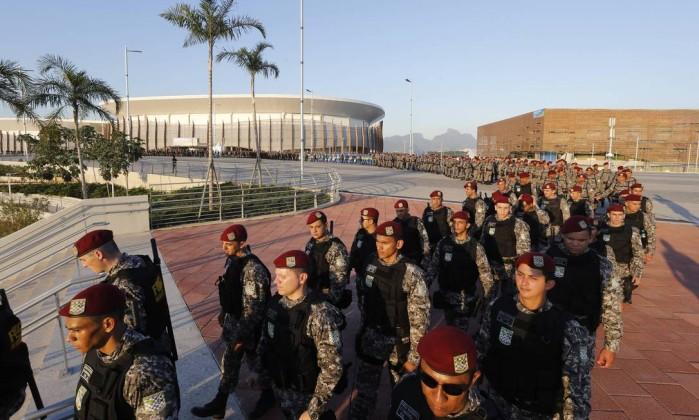 RIO 2016: Agentes da Força Nacional receberam apenas uma farda para os Jogos