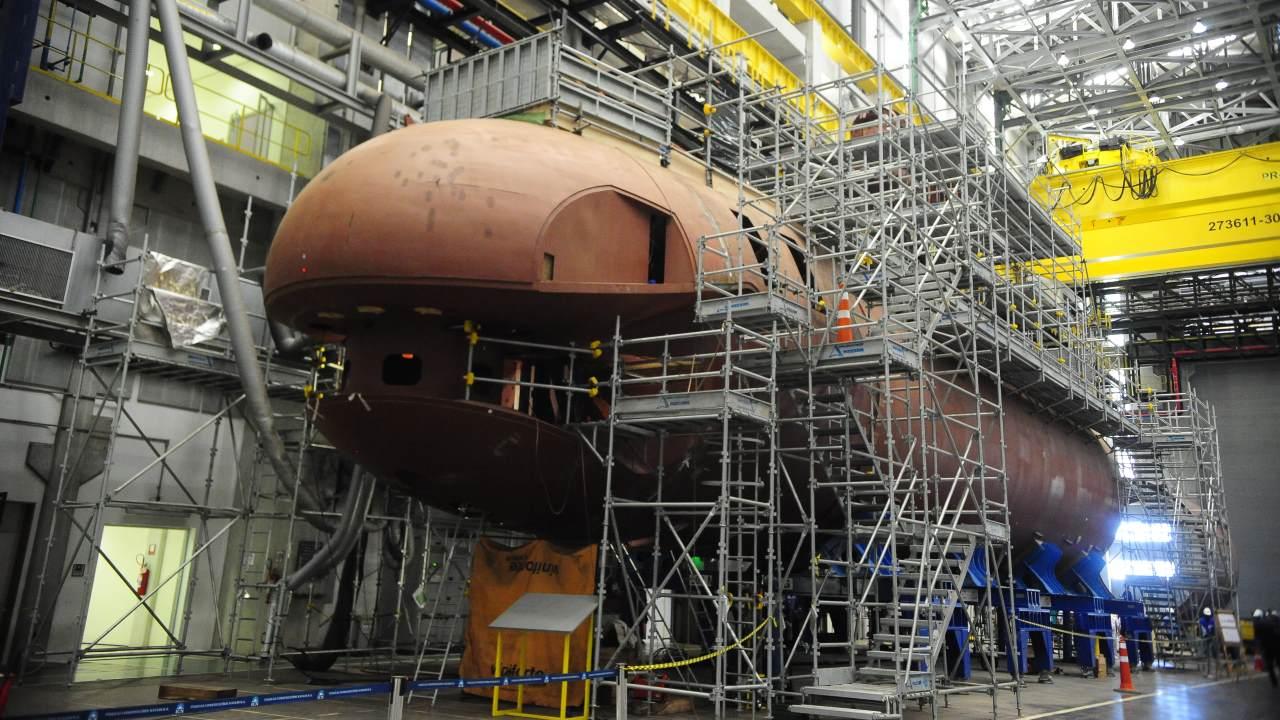 MPF investiga suspeita de irregularidades em fabricação de submarinos da Marinha