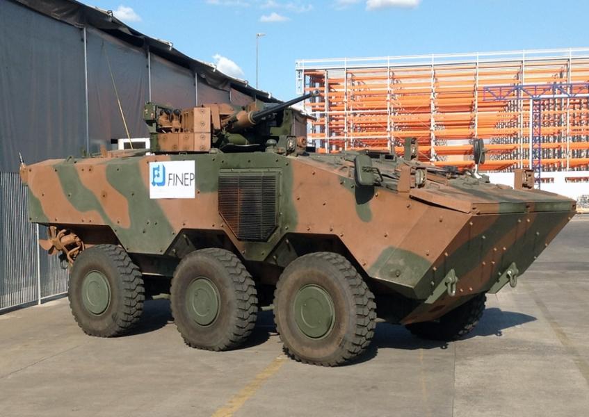 O Iveco Guarani 6x6 é uma opção de um produto nacional para uma possível aquisição de uma viatura Blindada 6x6 para o CFN.