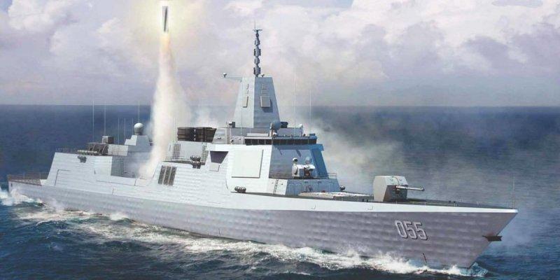 Concepção artística dos Type 55.