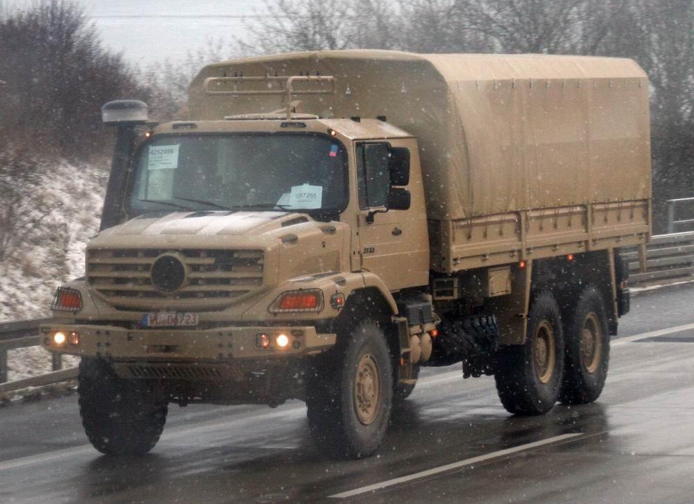 Chile: 330 caminhões para o Exercito Chileno