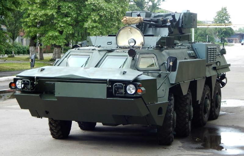 Ucrânia envia primeiro lote de veículos 8×8 BTR-4M para a Indonésia.