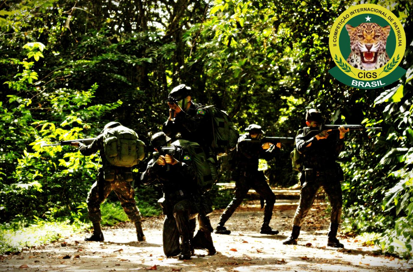 Centro de Instruções de Guerra na Selva : 2ª Competição Internacional de Patrulhas