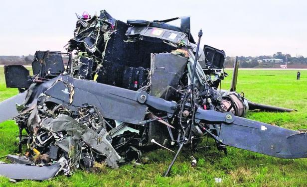 'Aviões de Museu': Mais 2 militares uruguaios morrem em queda de helicóptero (o 2º desastre aéreo em 96 horas); alertas das autoridades comovem o país