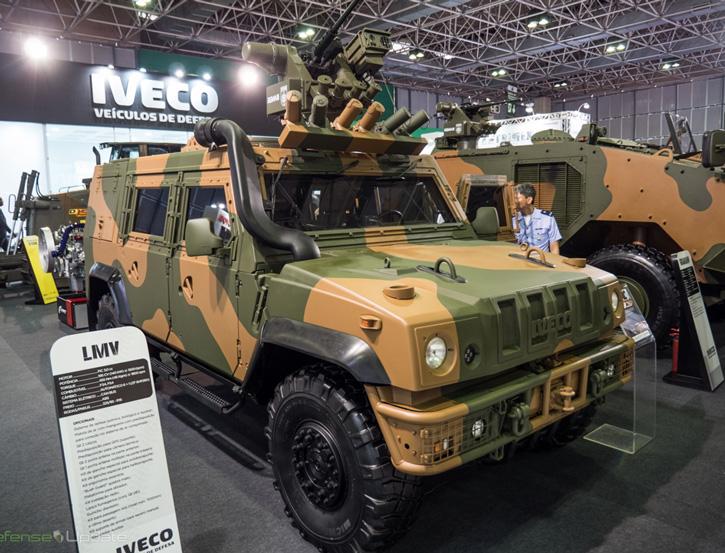 Iveco LMV (Light Multirole Vehicle) lince foi selecionado pelo Exercito Brasileiros para o programa de Viatura Blindada Multitarefa Leve Sobre Rodas (VBMT -LR) seria uma escolha natural para o CFN.