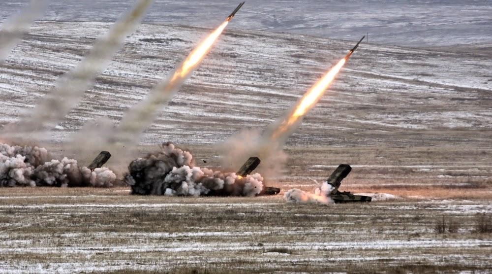 Sistema TOS-1A que Utiliza munições termobáricas.
