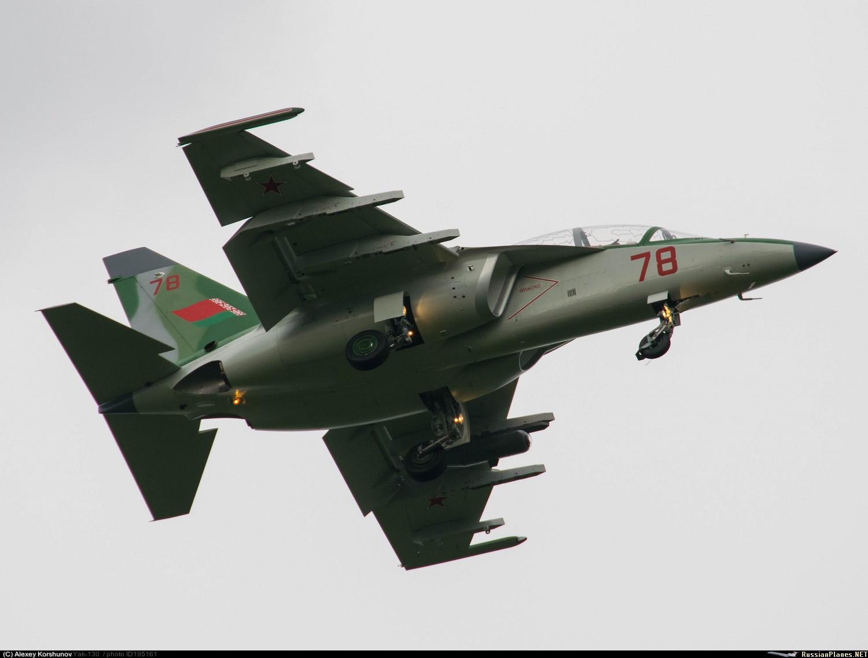 Os quatro últimos treinadores avançados Yak-130 da Bielorrússia já estão prontos.