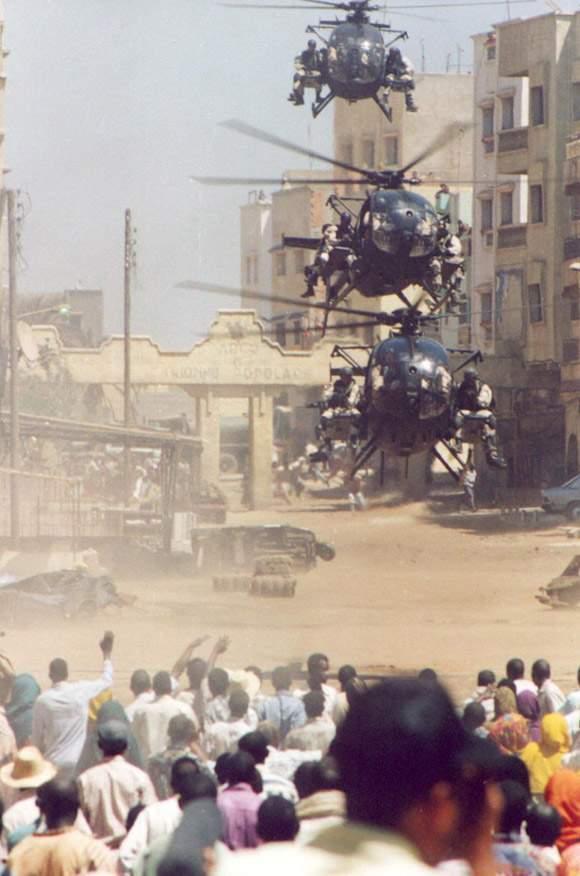 Há exatamente 23 anos, o  160th Special Operations Aviation Regiment chegava a Somália