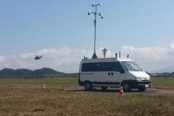 FAB PÉ DE POEIRA: Infantaria da Aeronáutica emprega vigilância eletrônica durante os Jogos Olímpicos