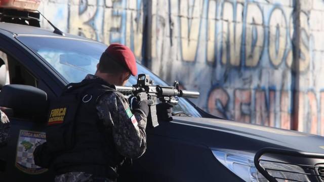 SEGURANÇA PUBLICA: Operação para prender autores de ataque contra equipe da Força Nacional tem baleados
