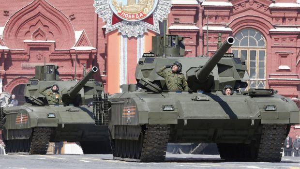 Rússia assina primeiro contrato de fornecimento de mais de 100 tanques Armata