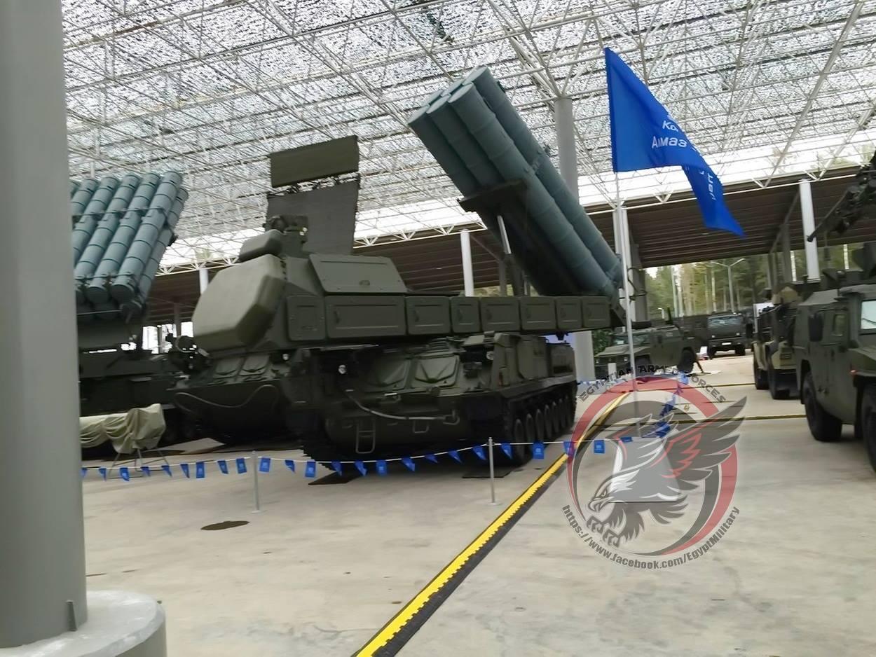 Egípcios ressaltam o novo Buk-M3