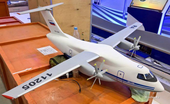 Rússia planeja primeiro voo do avião de transporte militar Il-112V para 2017