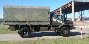 Exército Argentino avalia o caminhão militar  Mercedes-Benz Zetros