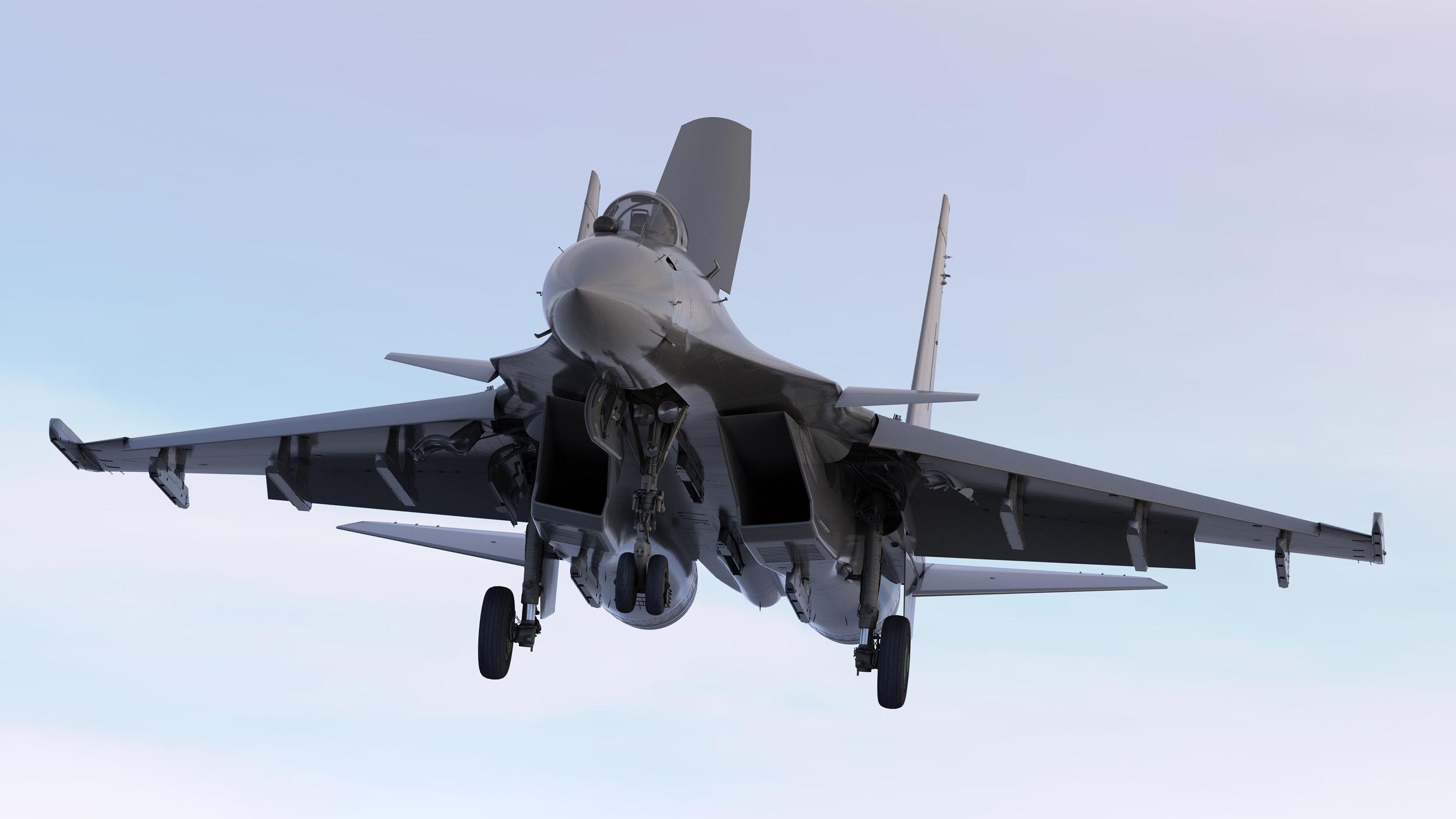 Rússia modernizará caças embarcados Sukhoi Su-33