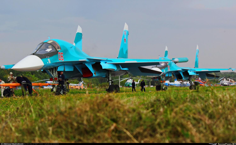 JSC transfere mais seis Su-34  para a VKS