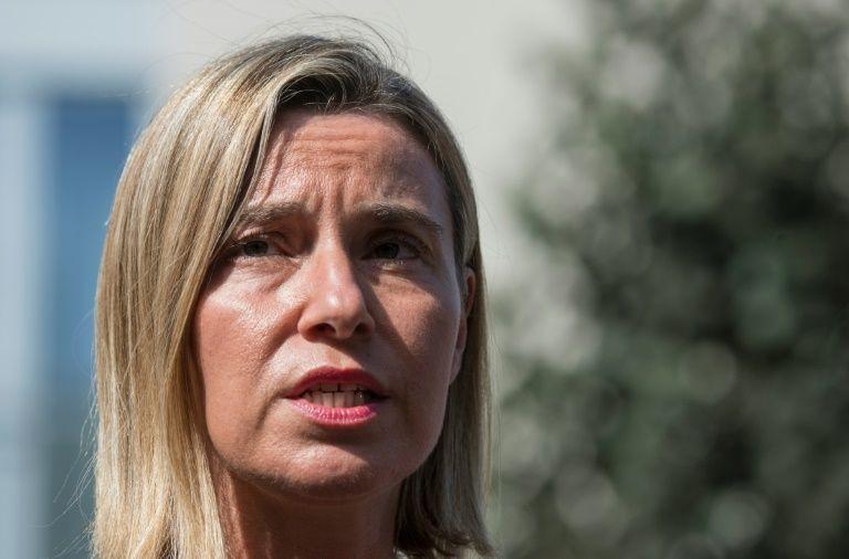 Mogherini descarta criação de exército comum europeu em futuro próximo