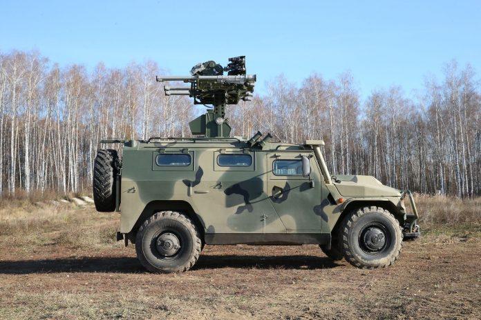 Russia apresente seu novo sistema de defesa antiaérea de curto alcance Gibka-S.