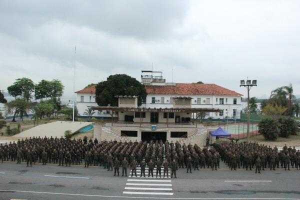 FAB PÉ DE POEIRA: Batalhão de Garantia da Lei e da Ordem da FAB encerra patrulhamento nas ruas do Rio de Janeiro