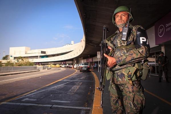 FAB PÉ DE POEIRA: Batalhão de Garantia da Lei e da Ordem da FAB atende a uma ocorrência por dia