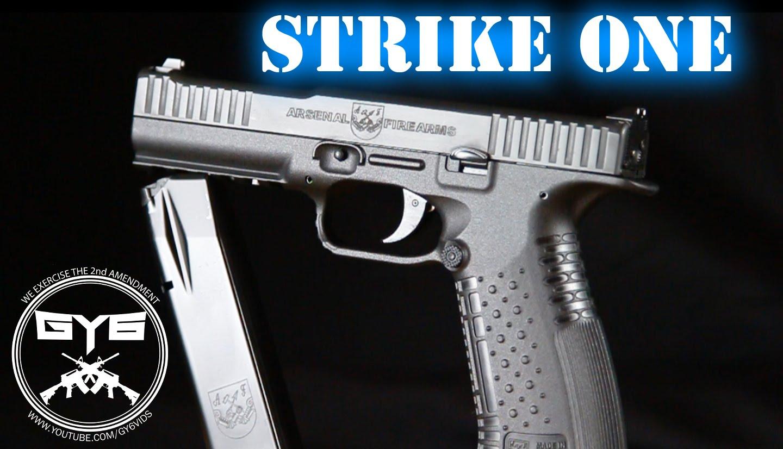 Infanteria de Marina da Venezuela adota a pistola Strike One da Arsenal Firearms como sua arma padrão