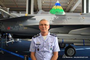 Comandante da Força Aérea Brasileira Nivaldo Luiz Rossato