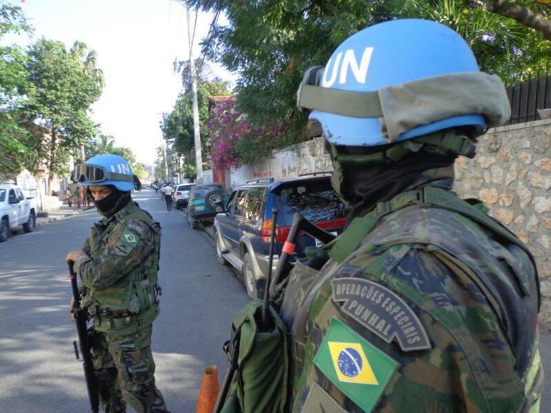 FAB PÉ DE POEIRA:  Força Aérea Brasileira volta a enviar tropa de Infantaria para o Haiti