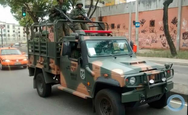 FAB PÉ DE POEIRA: BINFAE-AF participa da operação de segurança no 2º turno eleições 2016 no RJ