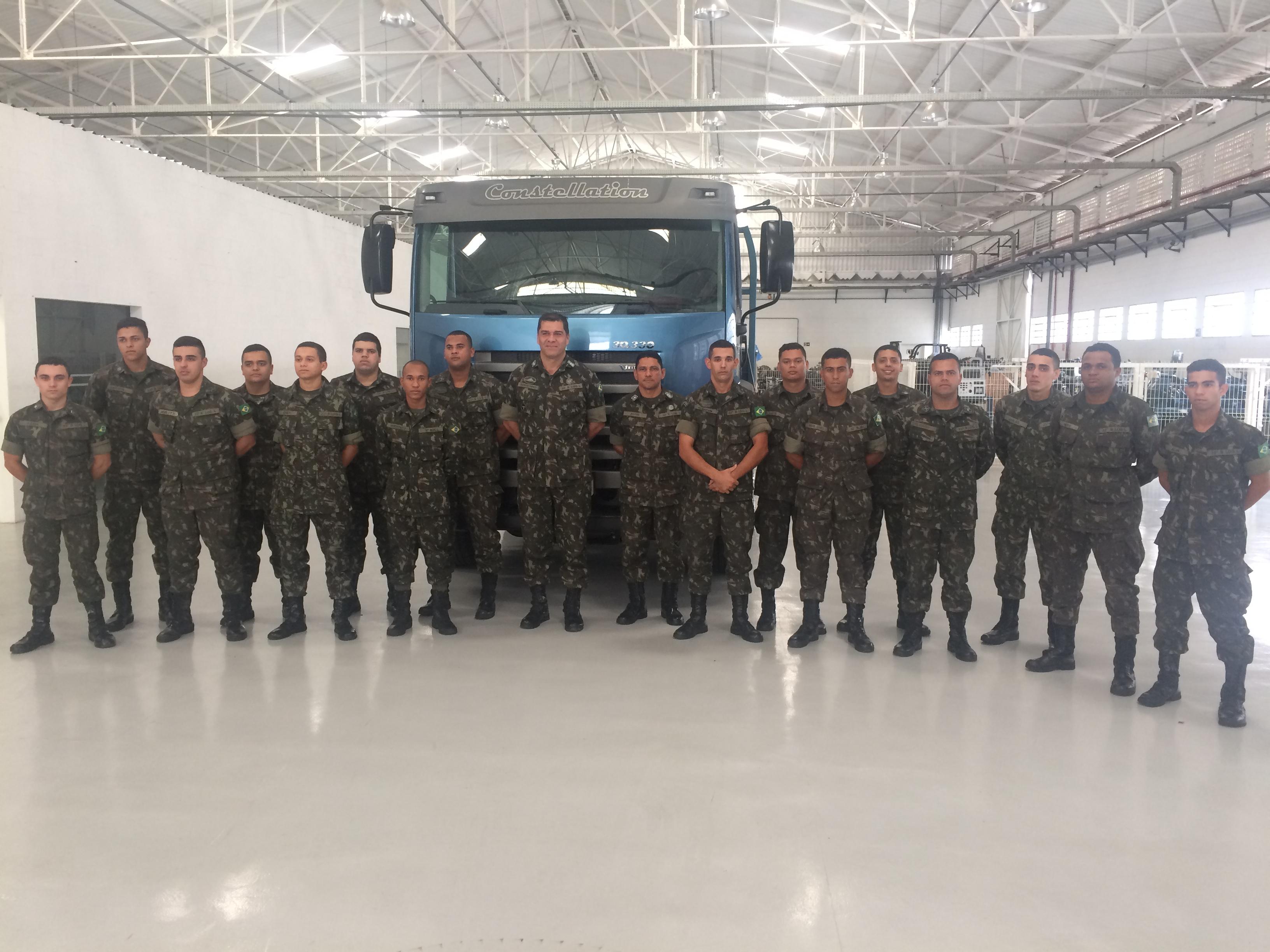 MAN Latin America capacita soldados para o mercado de trabalho