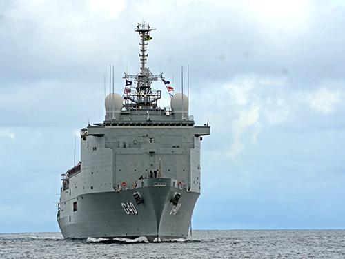 Inspeção declara o NDM 'Bahia' pronto para operar com a Esquadra