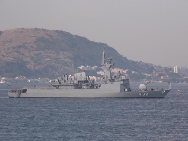 EXCLUSIVO: corveta 'Júlio de Noronha' faz mais uma prova de mar e prepara o último teste dos seus motores de combustão principal