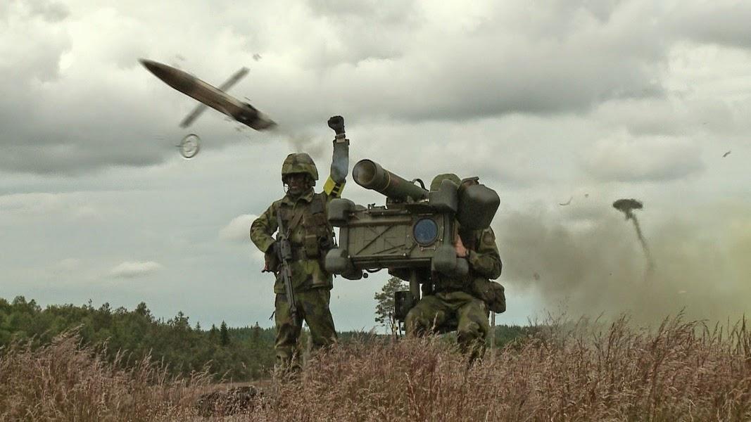 Argentina encomenda sistemas de defesa antiaérea RBS-70 NG