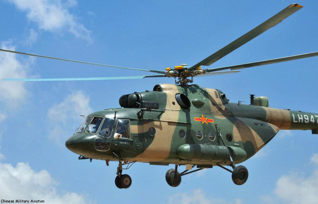 China envia primeira unidade de Helicópteros para apoiar a Missão das Nações Unidas no Sudão do Sul.