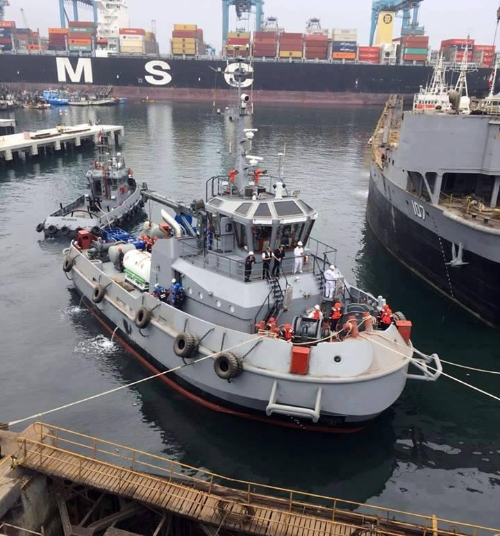 Salvamento submarino: Marinha peruana é, depois da brasileira, a 2ª da América do Sul a incorporar um barco concebido para essa missão