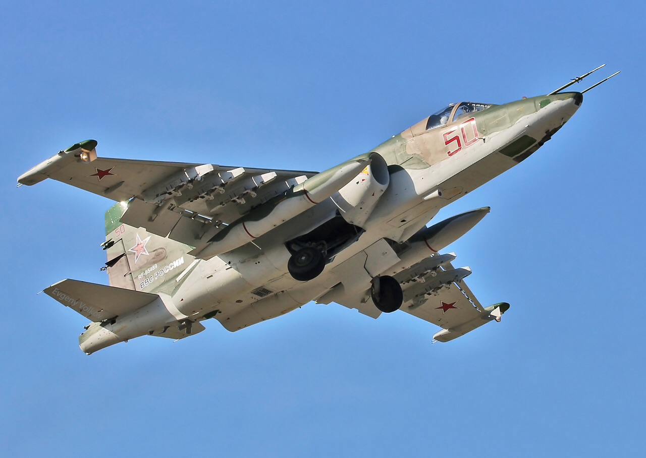 "The National Interest compara o  A-10 ""Warthog""  ao Su-25 modernizado"