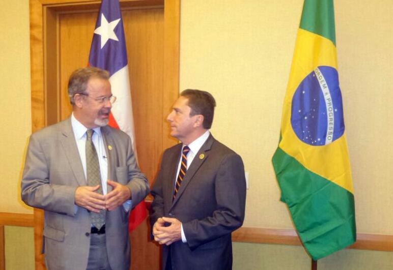 Ministro Jungmann participa de reuniões bilaterais em Trinidad e Tobago