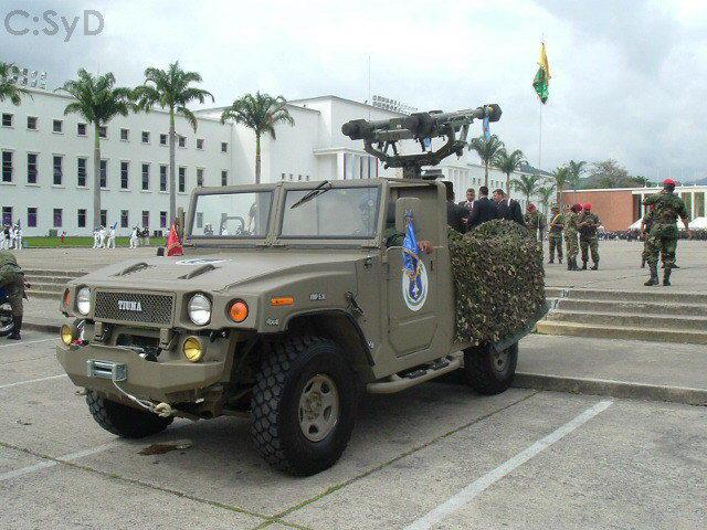 Tiuna 4×4 : O todo terreno Bolivariano