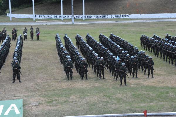 FAB PÉ DE POEIRA: Militares do BINFAE-RF concluem curso de preparação para Missão de Paz